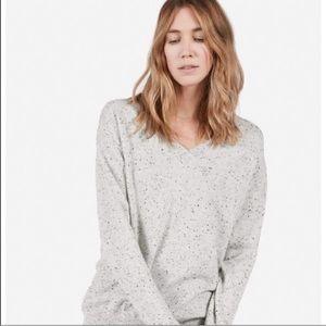 Everlane V Neck Cashmere Sweater, sz S